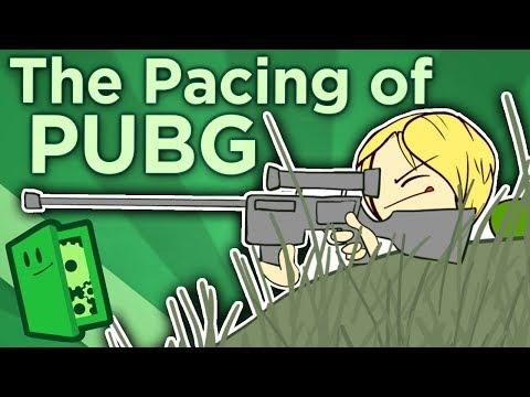 The Pacing of PUBG - The Thriller Tension of Battlegrounds - Extra Credits