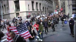 Tokyo, New York City both had demonstrations for Fuji TV & Wall Street