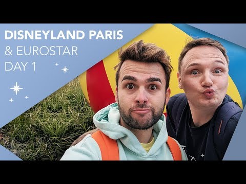 Disneyland Paris Vlog   Day 1   Eurostar Travel & Sequoia Lodge   May 2019   Adam Hattan