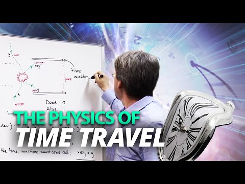 The physics of time travel, by Dr Pieter Kok