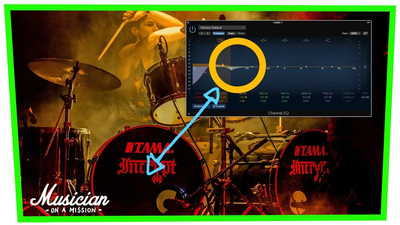 How to Set Up Your Kick Drum EQ (3 Simple Steps)