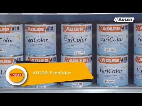 ADLER VariColor - лак для внешних и внутренних работ.