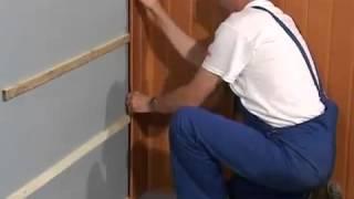 как монтировать стеновые панели видео