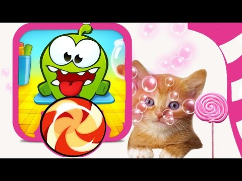 Om Nom Stories | Cut The Rope Funny Cartoons For Kids | Candies Bubble Bath Kitty Time | Chotoonz TV