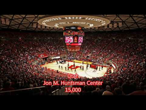 PAC 12 Basketball Arenas. WHICH IS THE BIGGEST?????