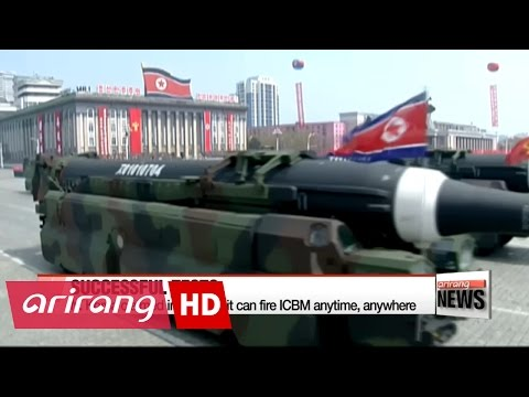 Thumbnail: South Korea says latest missile is identified as IRBM
