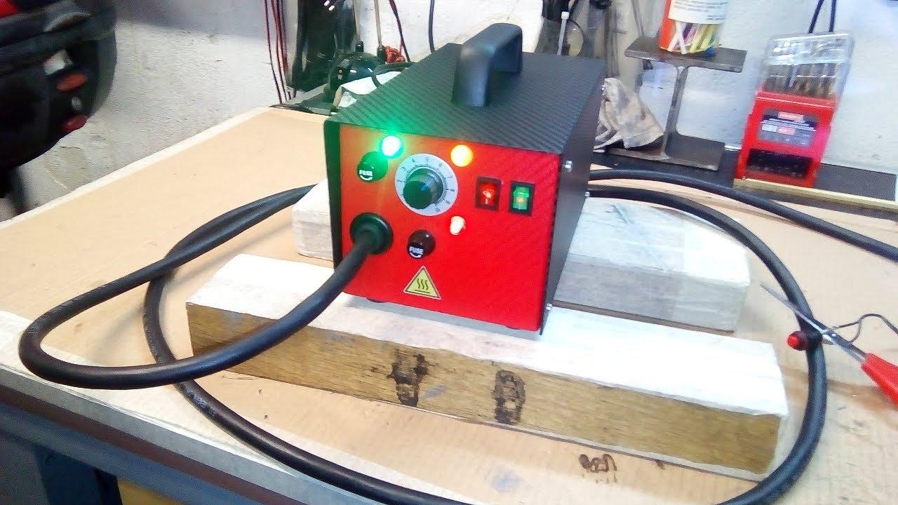 Schema Elettrico Saldatrice Inverter : Come costruire una saldatrice cucitrice a punti metallici per
