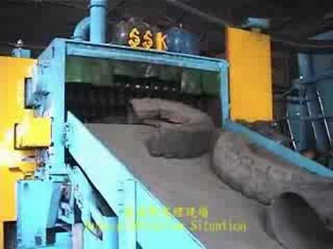 sk trs scrap tire recycling system youtube