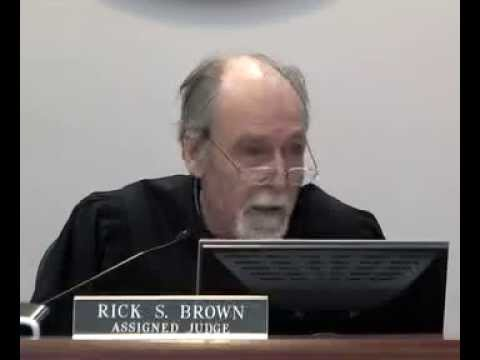 Court & His own Def. Atty. Fucked Ron Carrari in front of the JURY.