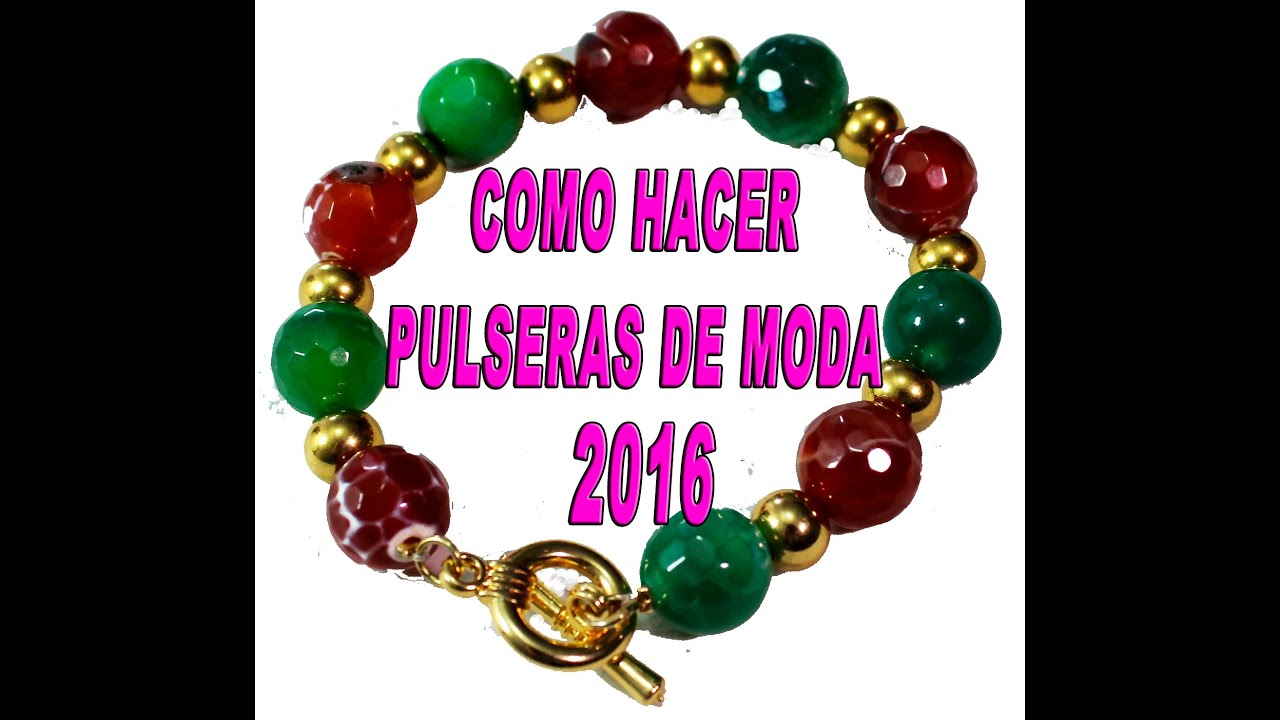 pulseras de moda paso a paso fashion bracelets step by step youtube