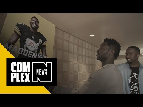 Antonio Brown Discusses Relationship with Tekashi69, Drake & His Madden 19 Cover