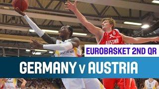 Germany v Austria - Highlights - 2nd Qualifying Round - EuroBasket 2015