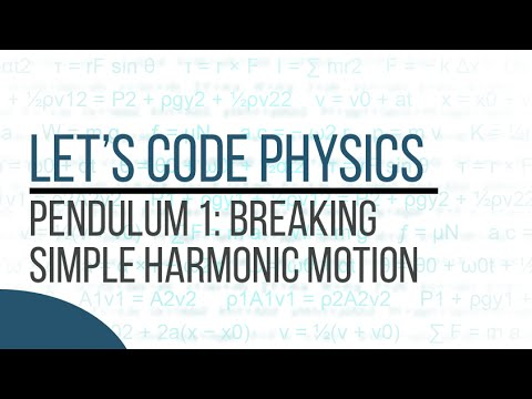 Pendulum 1 - Breaking Simple Harmonic Motion