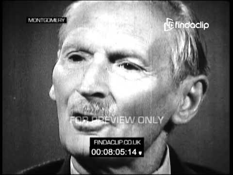 "Bernard Levin Interviews Field Marshal Lord Bernard Law Montgomery aka ""Monty"" TX 24/01/1966"