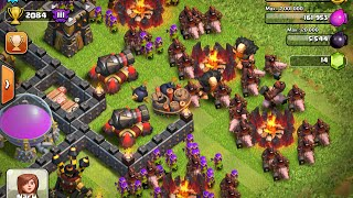 Clash of Clans-Hog Rider lv5 Attack#26