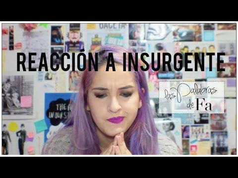 Insurgente (trailer): Reacción al trailer (Insurgent Trailer Reaction) | LasPalabrasDeFa