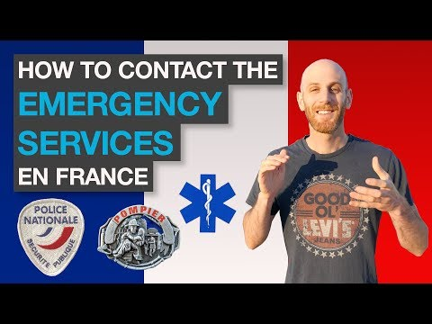 🇫🇷 How to contact the Emergency Services in France - Les secours en France 🚨