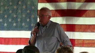 Sen. Sanders speaks out on military-industrial-complex