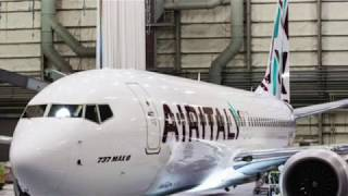 AIR ITALY FIRST BOEING 737 MAX 8