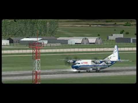 Novosibirsk - Beijing An-12