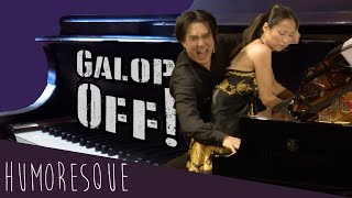 "Galop Off! Hyung-ki Joo and Yu Horiuchi Galloping to Ganz's Galop, ""Qui Vive!"""
