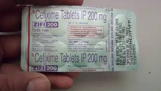 Zifi 200 (cefixime) tablet uses,benefits, side effects,उपयोग,फायदे,नुकसान,review in Hindi