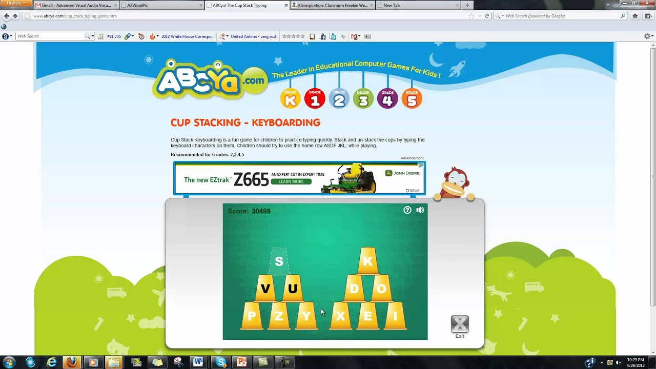 cup stacking games to play