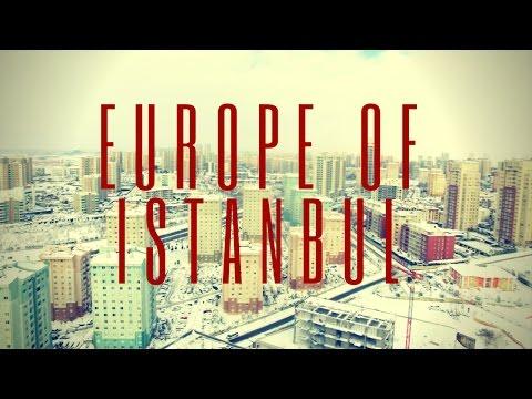 Travel via Drone - Europe Side Of Istanbul Turkey 4K Drone Video #3