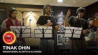 Coke Studio Season 10| BTS| Tinak Dhin| Ali Sethi, Ali Hamza & Waqar Ehsin