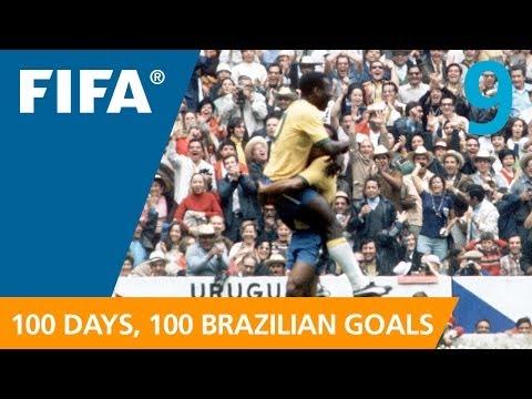 100 Great Brazilian Goals: 9 Pele Mexico 1970