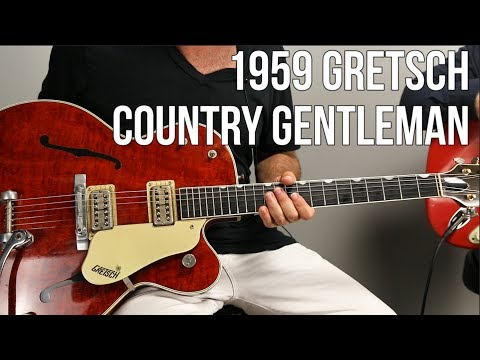 Vintage Gretsch Country Gentleman With Guest Jason Sinay
