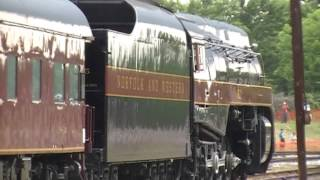 Norfolk & Western 611 (Powhatan Arrow), 05-30-2014
