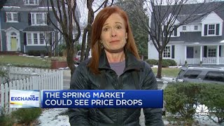 Why the spring housing market may see price drops