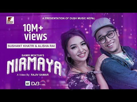 NIRMAYA | Sushant Khatri & Alisha Rai | By: Samir Moktan | Official Music Video 2018