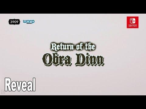 Return of the Obra Dinn - Nintendo Switch Reveal Trailer [HD 1080P]