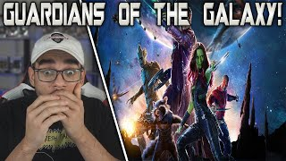 Guardians of the Galaxy (2014) Movie Reaction! FIRST TIME WATCHING!