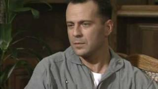 Jim Ferguson Classic  Interview with Bruce Willis for The Bonfire of the Vanities