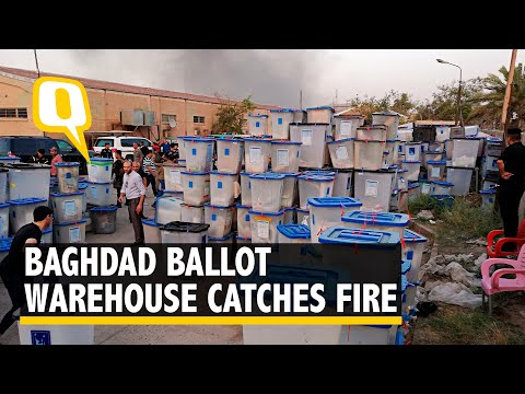 Iraq's Largest Ballot Warehouse Catches Fire Before Vote Recount