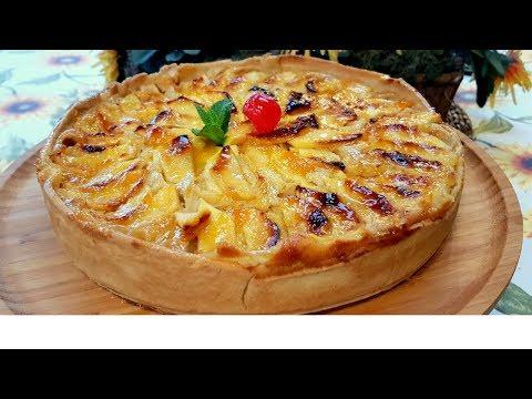 Tarta de manzana casera, receta muy facil