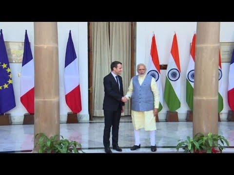 """ماكرون يريد أن يجعل من الهند """"شريكا استراتيجيا"""""""