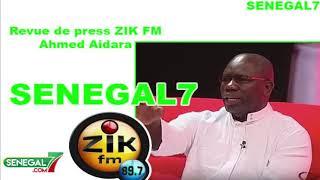 Revue de presse Zik-fm du Mercredi 19 juin avec Mame Mbaye Niang
