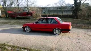 Bmw E30 Red Coupe 17inch Alpina