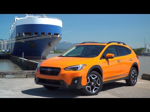 Very first all-new Subaru Crosstrek arrives by ship