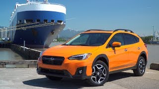 very first all new subaru crosstrek arrives by ship