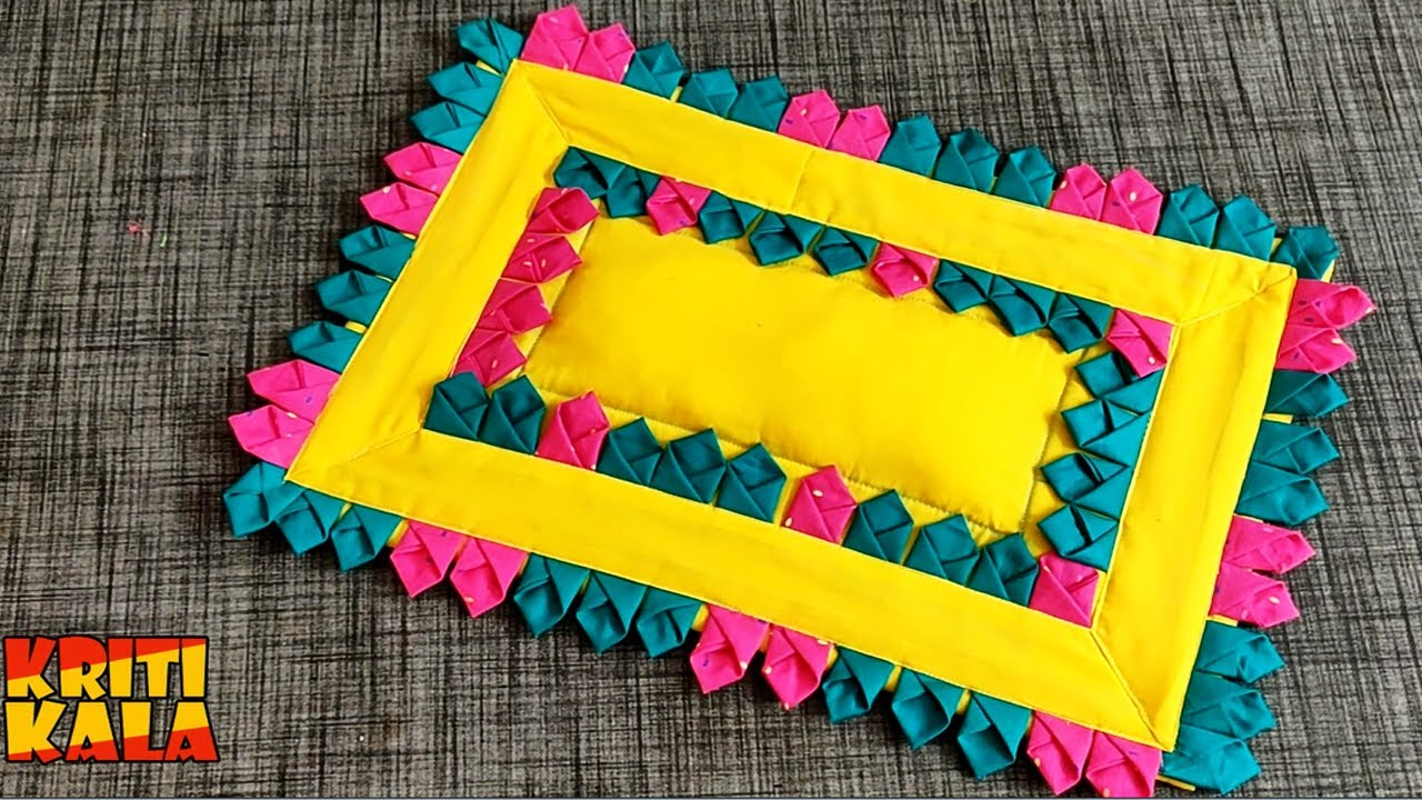 Very Beautiful Doormat Design/ How to make doormat at Home/ DIY doormat