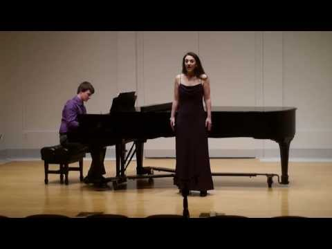 George Gershwin - Someone to Watch over Me - Audrey Escots, Soprano