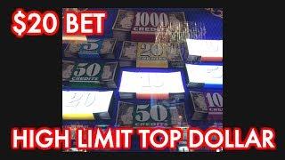 HIGH LIMIT TOP DOLLAR 💲& FU NAN FU NU BONUS @ Graton Casino | NorCal Slot Guy