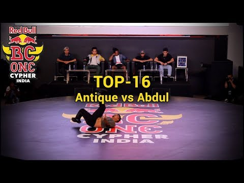 Top16 - Antique vs Abdul - Red Bull BC One Cypher India 2018