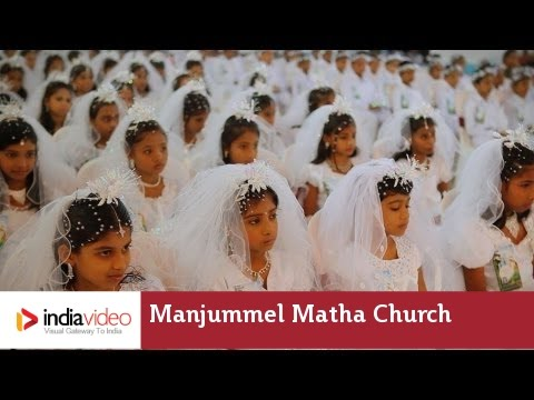 Manjummel Matha Church in Ernakulam, Kerala