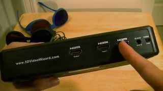 3D Video Wizard (2D to 3D Converter Box) First Look: